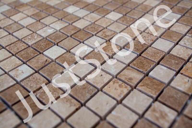 Мозаика из травертина Полированная МКР-4П (15х15) - Фото 4
