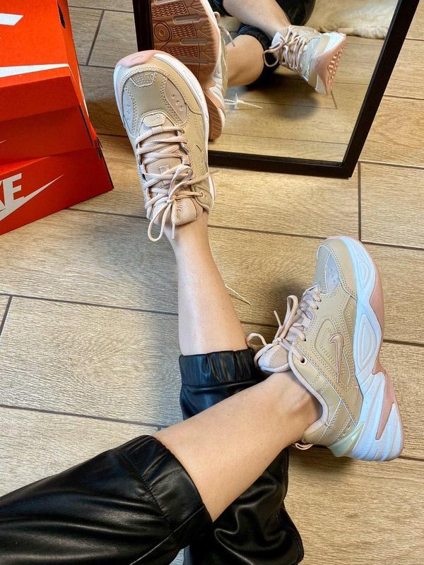 Nike m2k tekno beige - Фото 3