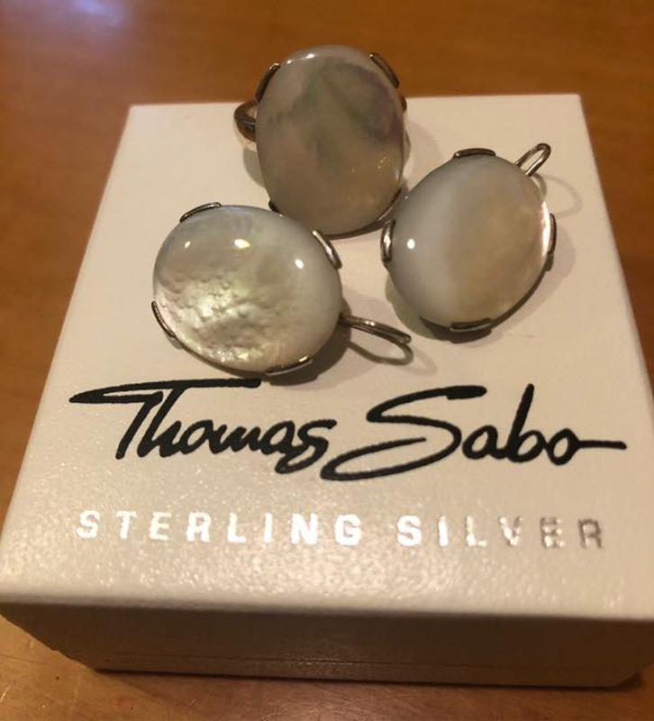 Комплект серебряных украшений Thomas Sabo