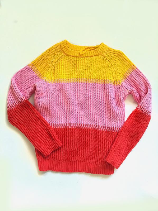 Лёгкий весенний свитер из хлопка - Фото 2