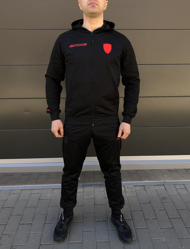 Мужской спортивный костюм, модный спортивный костюм,фирменный ... - Фото 3