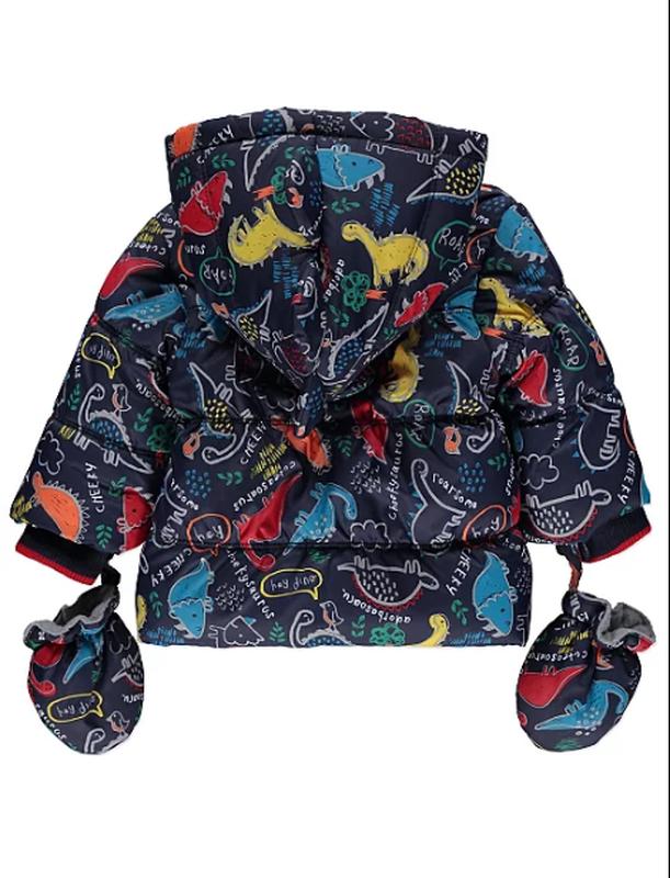Изумительная курточка для поклонников динозавров от george. ра... - Фото 2