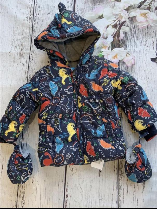 Изумительная курточка для поклонников динозавров от george. ра... - Фото 7