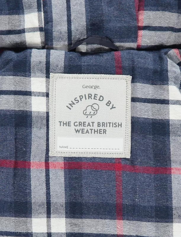 Стеганая курточка от george. размер 9-12,12-18 мес - Фото 4