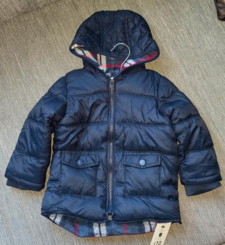 Стеганая курточка от george. размер 9-12,12-18 мес - Фото 6