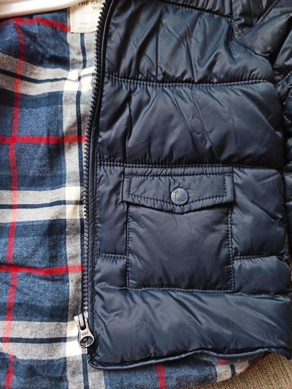 Стеганая курточка от george. размер 9-12,12-18 мес - Фото 7