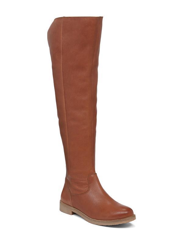 Кожаные сапоги-ботфорты lucky brand