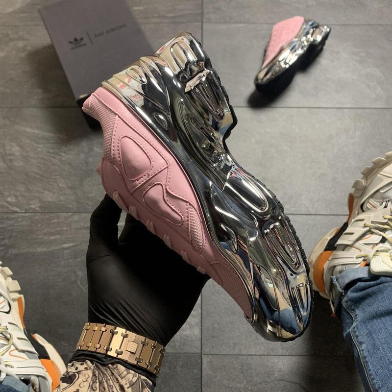 Adidas raf simons pink silver. - Фото 3