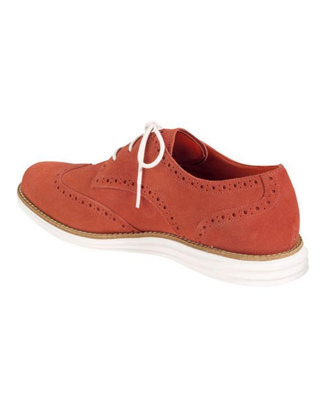 Туфли из замша cole haan - Фото 2