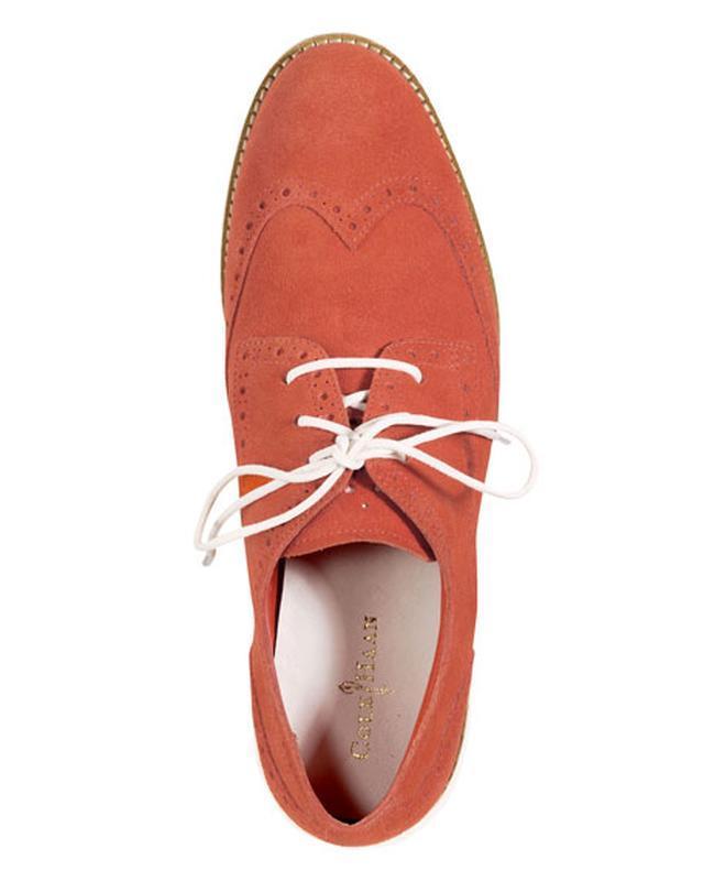 Туфли из замша cole haan - Фото 3