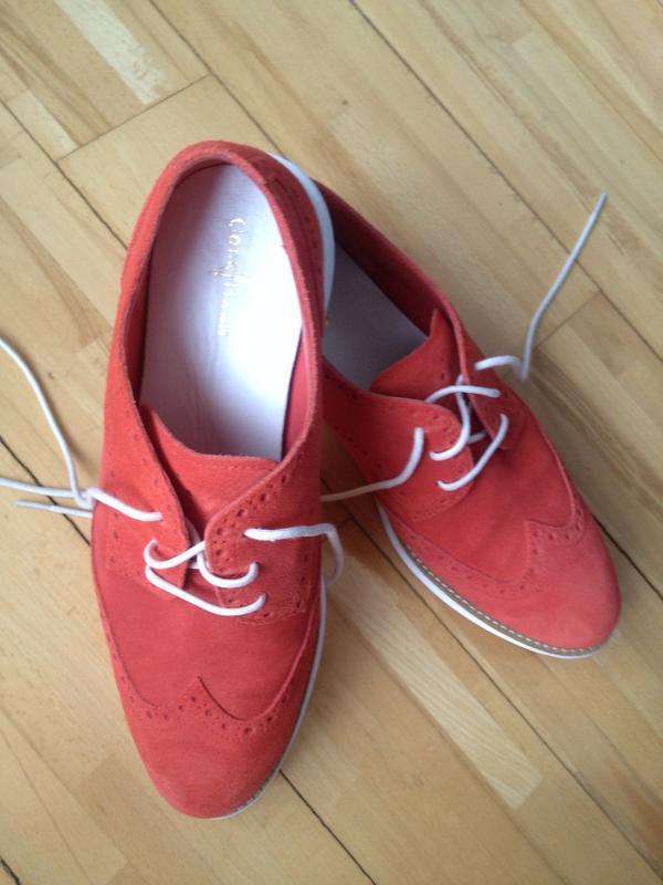 Туфли из замша cole haan - Фото 5