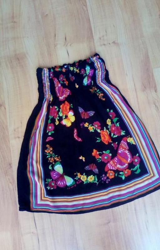 Лёгкое детское платье бардо - Фото 2