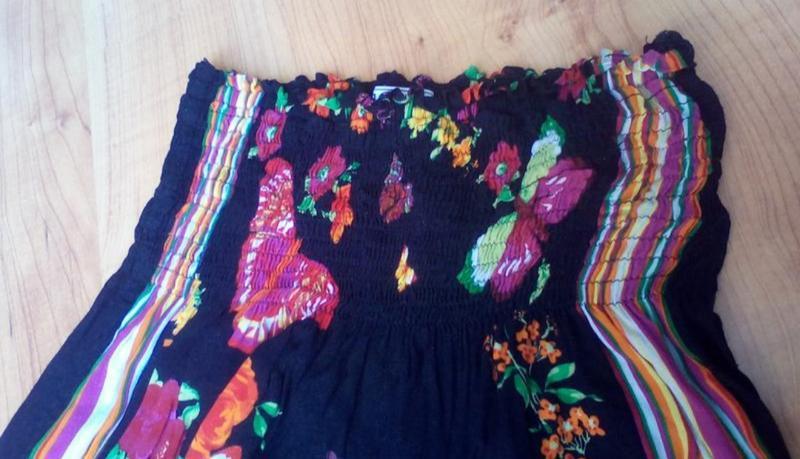 Лёгкое детское платье бардо - Фото 3