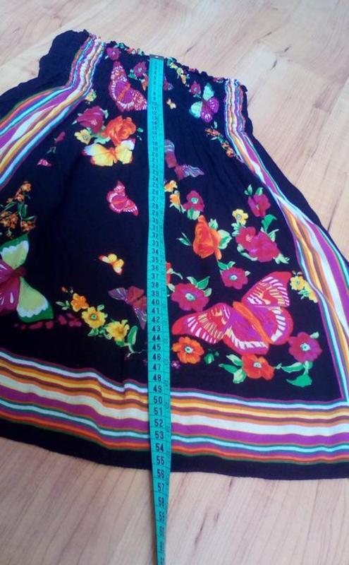 Лёгкое детское платье бардо - Фото 7