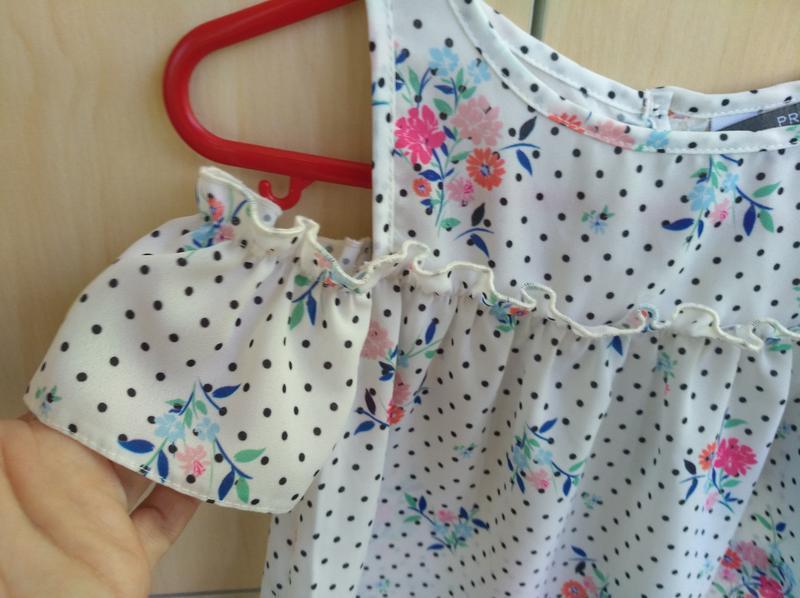 Блузка primark на 2 года - Фото 2