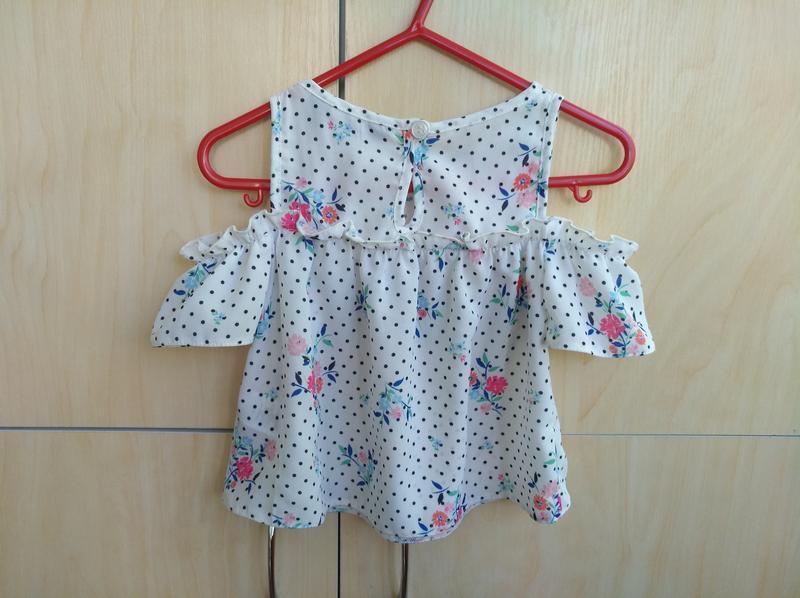 Блузка primark на 2 года - Фото 4