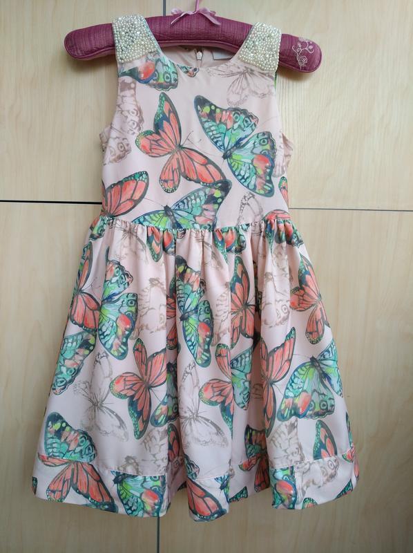 Нарядное платье matalan на 9 лет