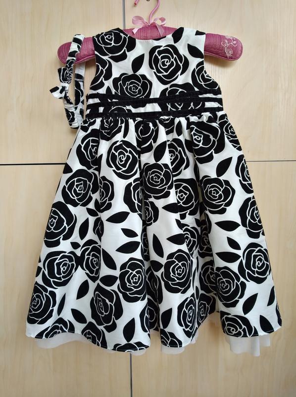 Нарядное платье matalan на 3-4 года