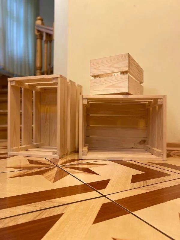 Деревянный ящик / ящик для консервации / ящик