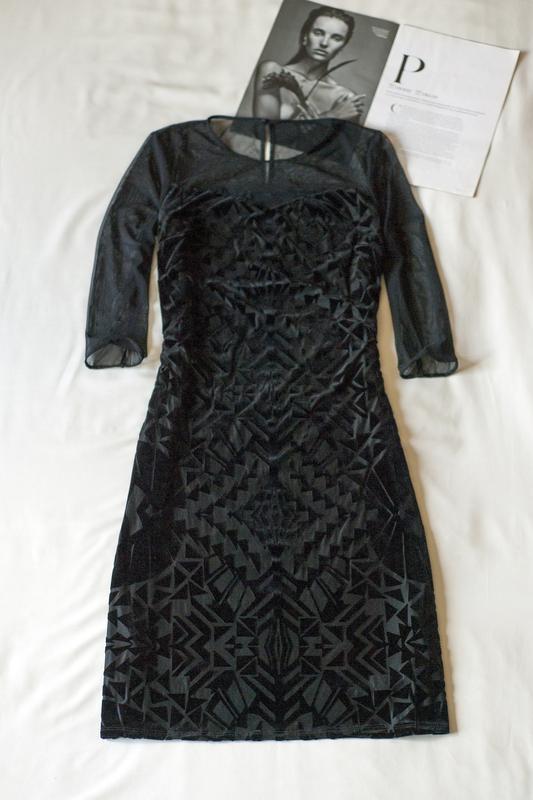 Очень красивое вечернее черное платье marks&spencer, размер xl