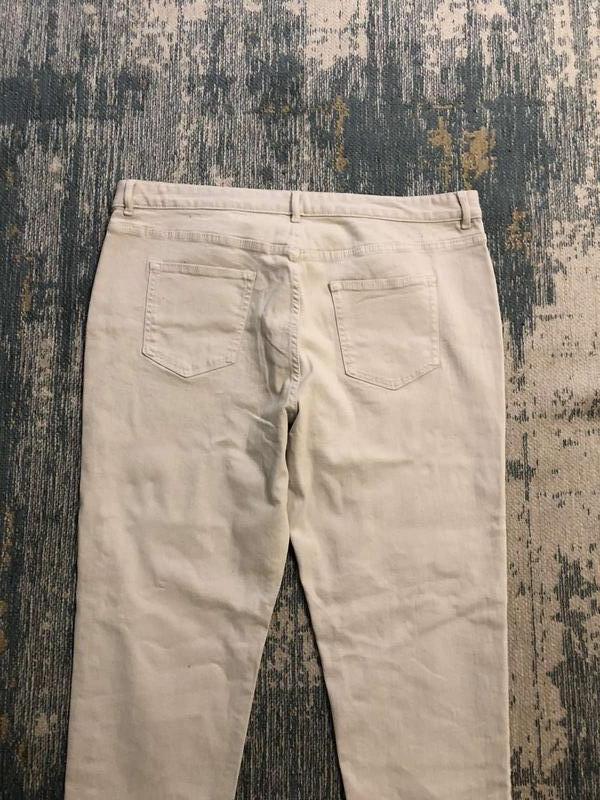 Бежевые джинсы slim marks&spencer, новые! - Фото 5