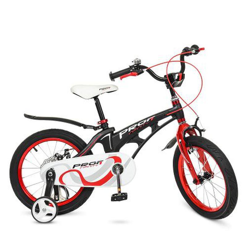 Детский велосипед Profi Infinity LMG 16201 16 дюймов черный