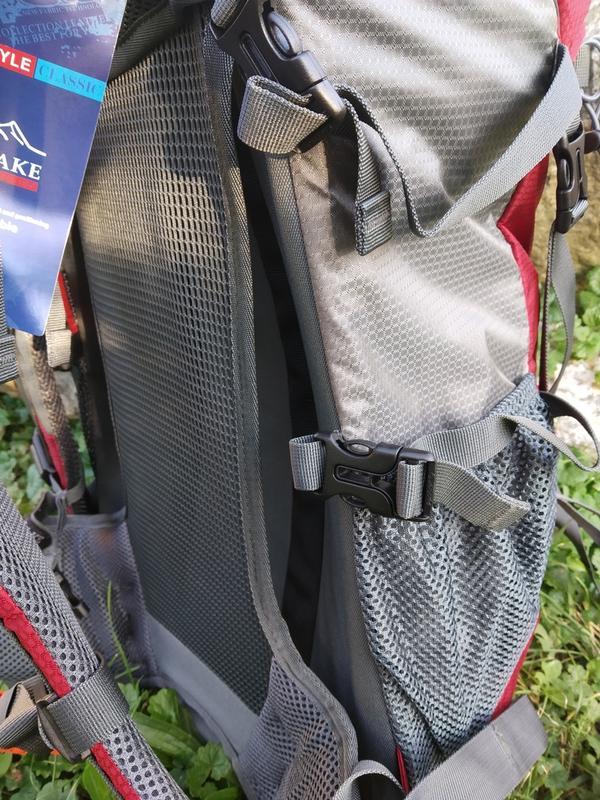 Рюкзак туристический LEADHAKE объем 60 литров - Фото 8