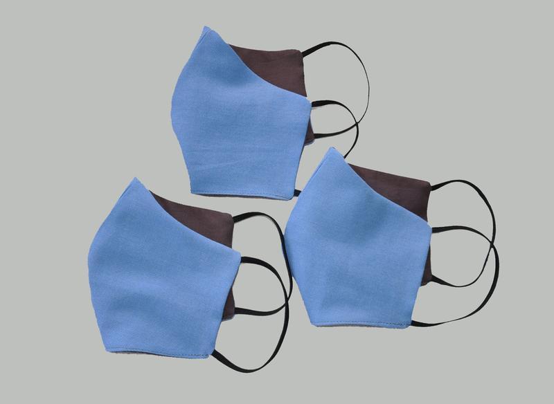 Маска для лица защитная многослойная - Фото 3