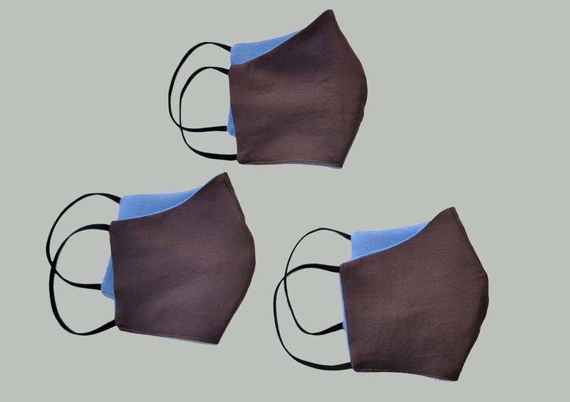 Маска для лица защитная многослойная - Фото 4
