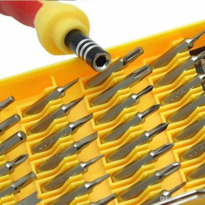 Набор отвёрток инструментов 32в1 для ремонта телефона и мелкойБЫТ - Фото 3