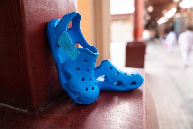 Детские тапочки для сада crocs