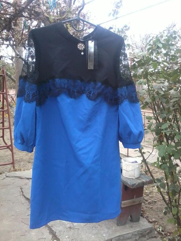 Женское стильное платье 44 размер