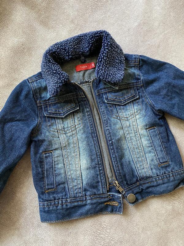 Джинсовая курточка 2-3 года