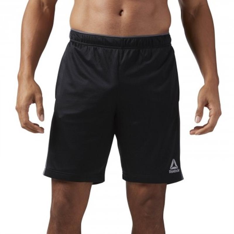 Оригинальные мужские шорты Reebok Workout Ready Knit - Фото 2