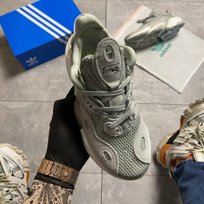 Кроссовки adidas originals torsion x ash silver - Фото 2