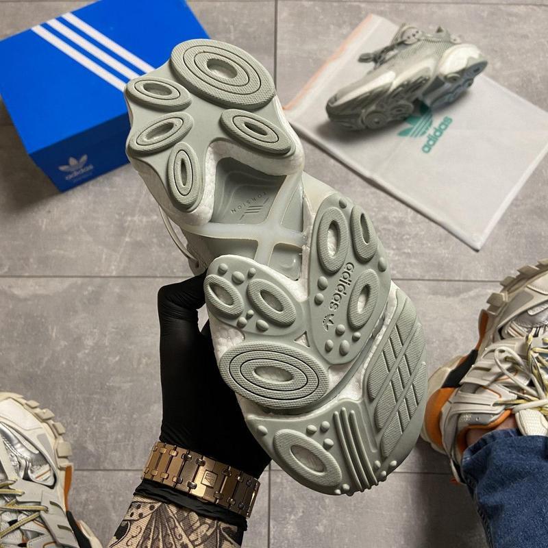 Кроссовки adidas originals torsion x ash silver - Фото 6
