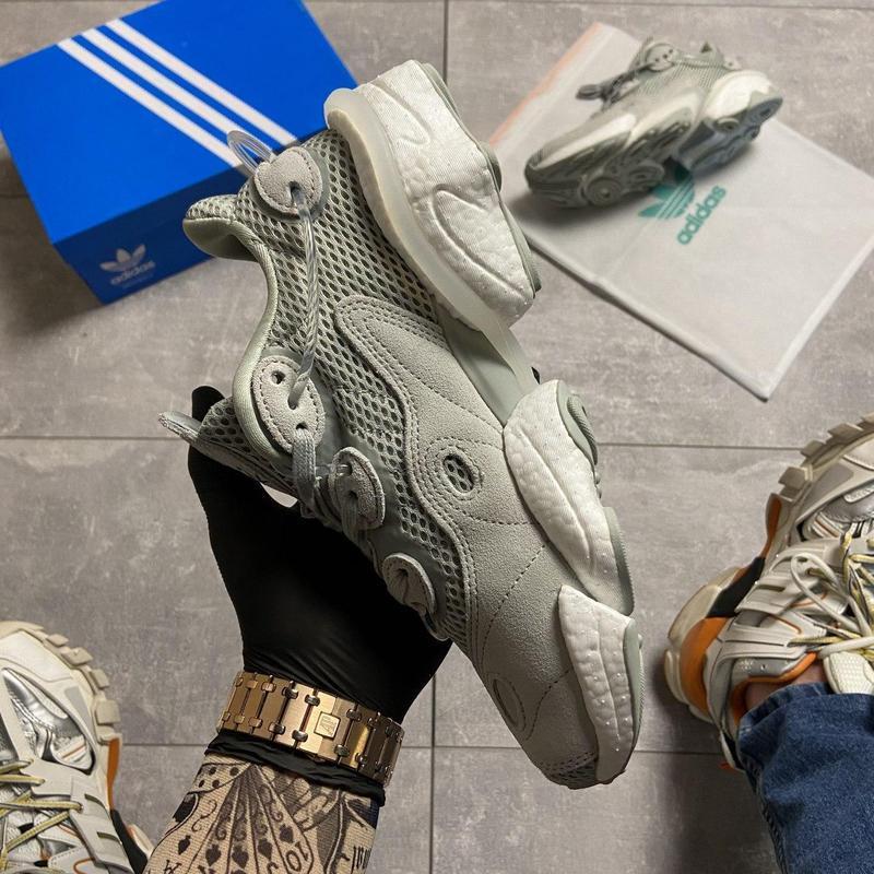 Кроссовки adidas originals torsion x ash silver - Фото 7