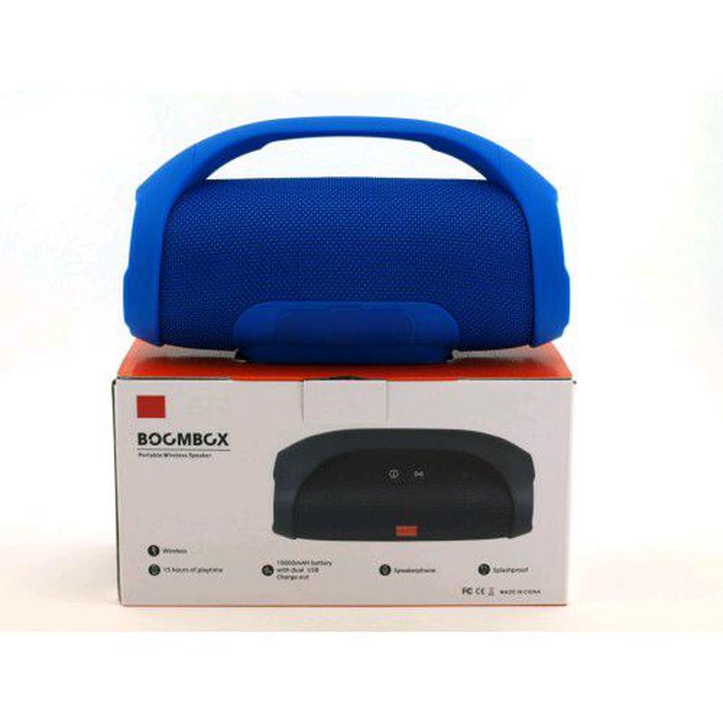 Портативная bluetooth колонка влагостойкая JBL Boombox B9 mini FM - Фото 8