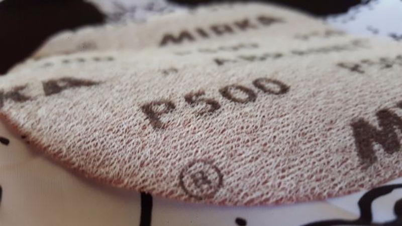 Универсальный сетчатый абразив для беспыльной шлифовки Mirka - Фото 2