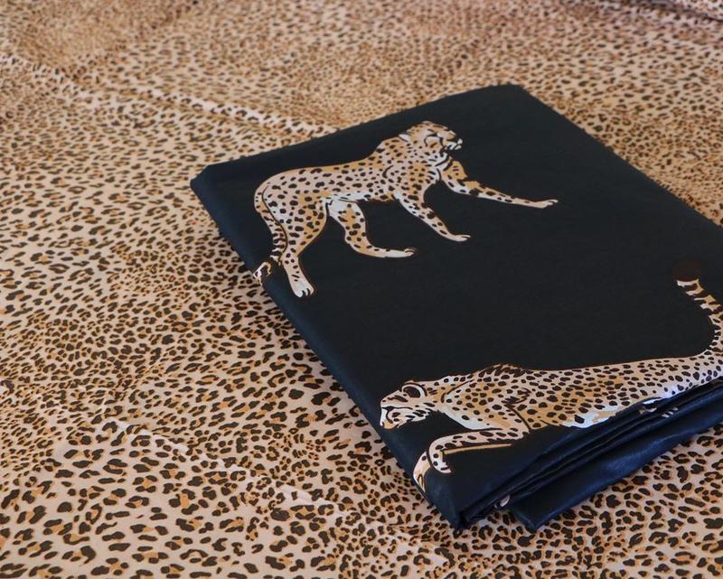 Постельное белье леопард . полуторный - Фото 4