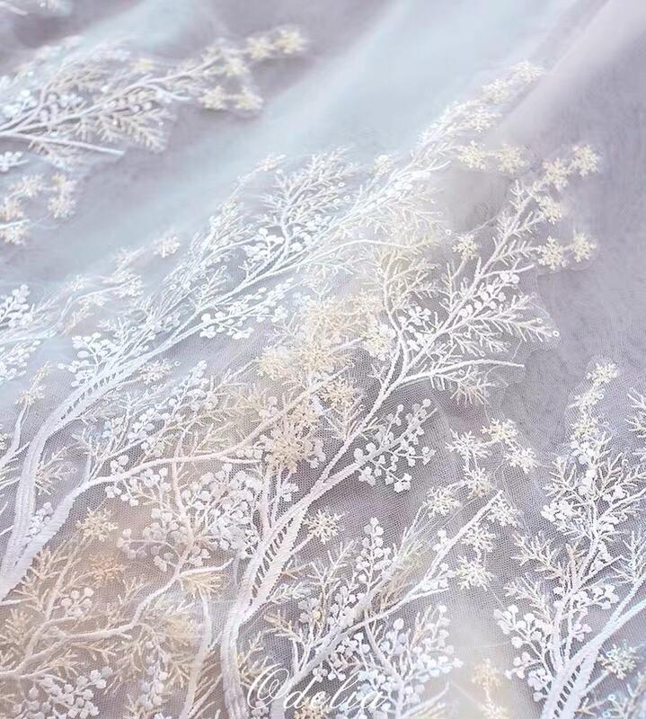 Розкішна весільна сукня на довгий рукав - Фото 4