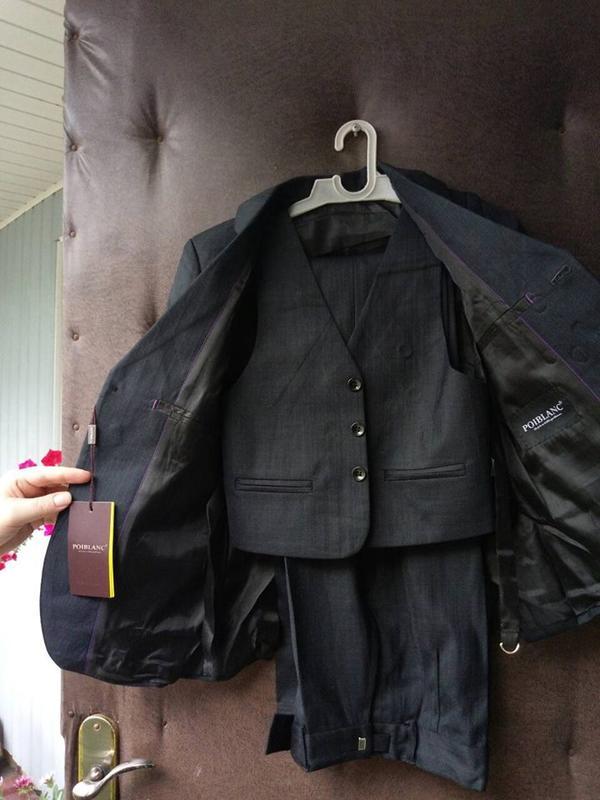 Шкільна форма розмір 54,56,58/Школьный костюм для мальчика тройка