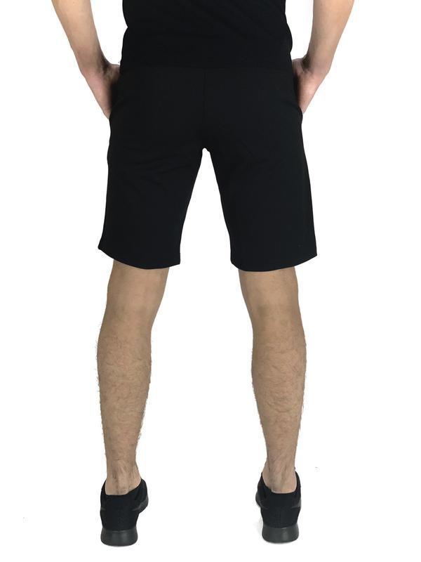 Мужские черные шорты nike - Фото 3