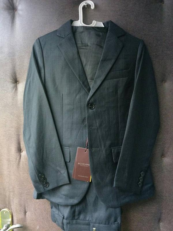 Шкільна форма розмір 54,56,58/Школьный костюм для мальчика тройка - Фото 3