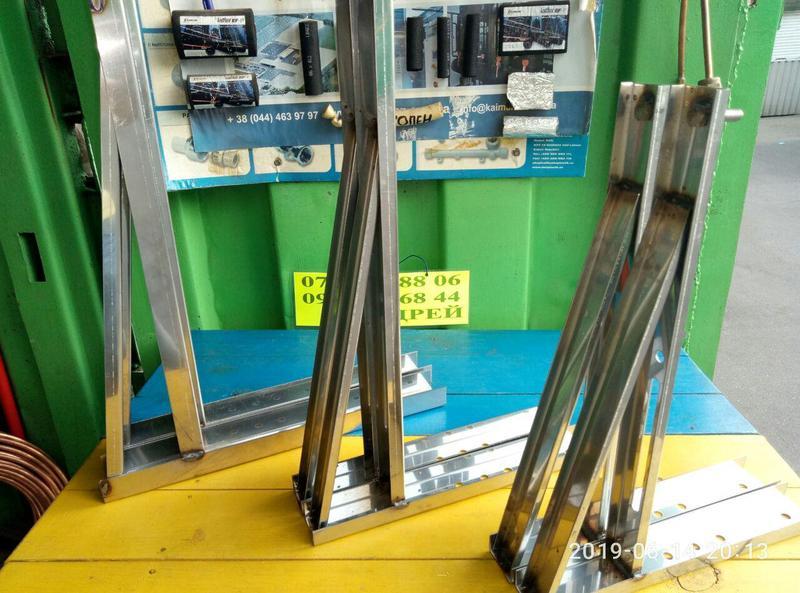Кронштейн нержавейка для кондиционера К1, К2, К3, К4 - Фото 2