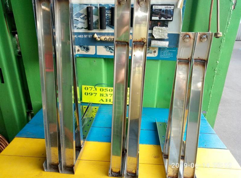 Кронштейн нержавейка для кондиционера К1, К2, К3, К4 - Фото 3