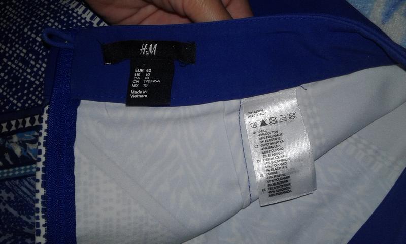 Стильная юбка фирмы h&m - Фото 5