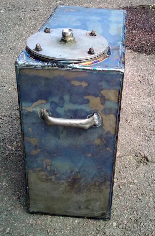 Титан Бак Емкость Резервуар 50х50х25 см 16 кг 60 литров - Фото 3