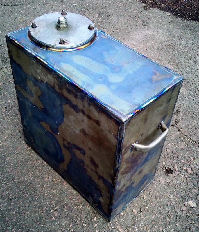 Титан Бак Емкость Резервуар 50х50х25 см 16 кг 60 литров - Фото 7