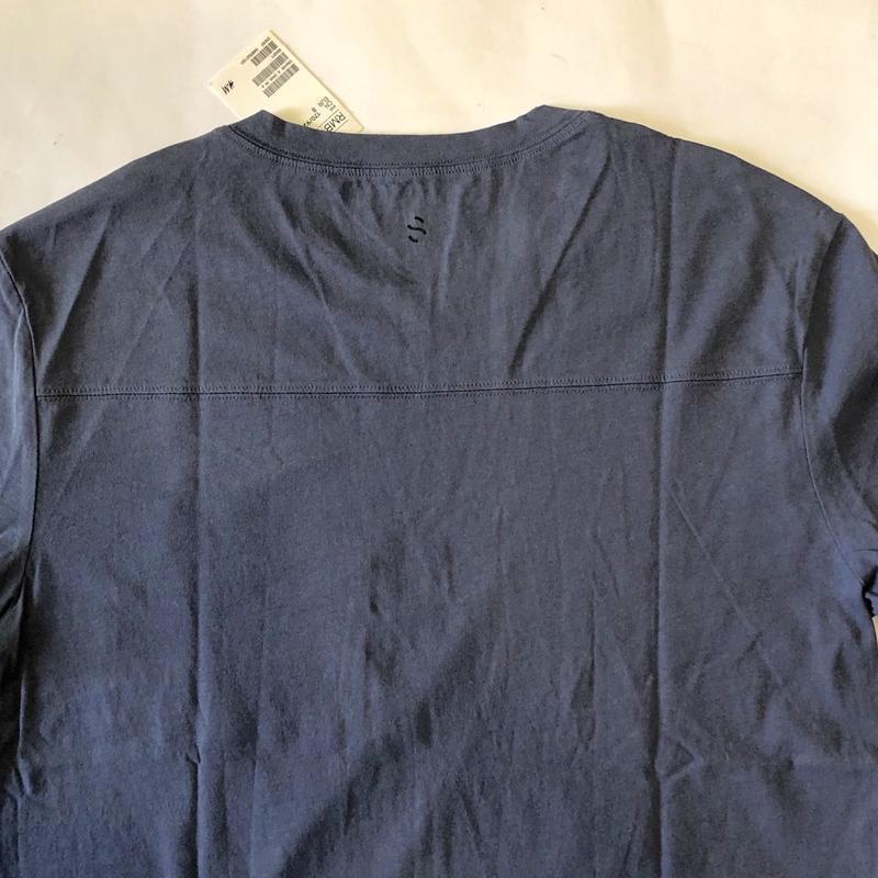 Темная спортивная футболка h&m sport ! - Фото 6